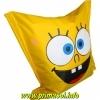 Бескаркасное детское кресло мешок Спанч Боб